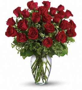 Always on My Mind - Long Stemmed Red Roses in Gothenburg NE, Ribbons & Roses