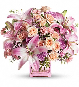 Teleflora's Possibly Pink in Laurel MD, Rainbow Florist & Delectables, Inc.