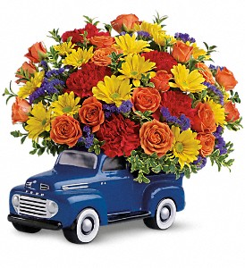 Teleflora's '48 Ford Pickup Bouquet in Conway AR, Ye Olde Daisy Shoppe Inc.