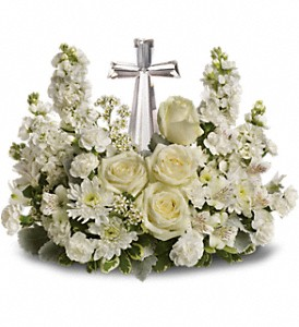 Teleflora's Divine Peace Bouquet in Baltimore MD, Raimondi's Flowers & Fruit Baskets