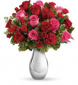Teleflora's True Romance Bouquet with Red Roses in Milwaukee WI, Flowers by Jan
