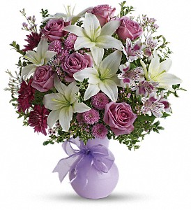 Teleflora's Precious in Purple in Metairie LA, Villere's Florist