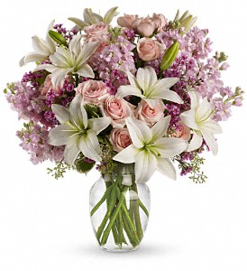 Teleflora's Blossoming Romance in Milwaukee WI, Flowers by Jan