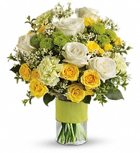 Your Sweet Smile by Teleflora in Parsippany NJ, Cottage Flowers