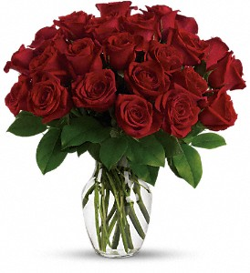 Enduring Passion - 12 Red Roses in San Clemente CA, Beach City Florist
