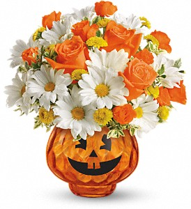 Happy Halloween by Teleflora in Reading PA, Heck Bros Florist