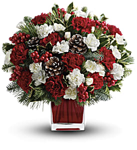 Make Merry by Teleflora in Maynard MA, The Flower Pot