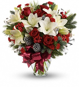 Holiday Enchantment Bouquet in Casper WY, Keefe's Flowers