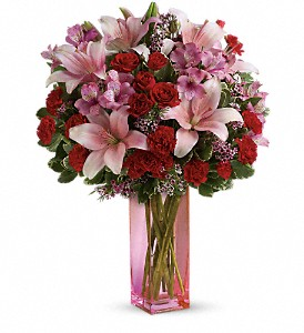 Teleflora's Hold Me Close Bouquet in Bartlett IL, Town & Country Gardens