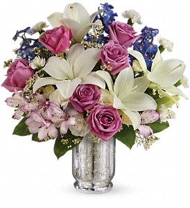 Teleflora's Garden Of Dreams Bouquet in Parsippany NJ, Cottage Flowers