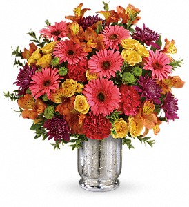 Teleflora's Pleased As Punch Bouquet in Lancaster PA, Petals With Style