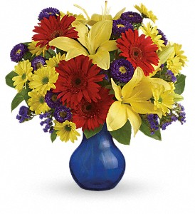 Teleflora's Summer Daydream Bouquet in Oklahoma City OK, Array of Flowers & Gifts