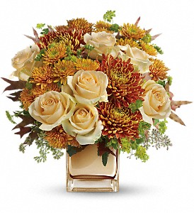Teleflora's Autumn Romance Bouquet in Chico CA, Flowers By Rachelle