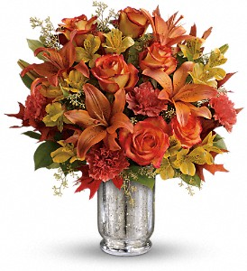 Teleflora's Fall Blush Bouquet in Lewistown MT, Alpine Floral Inc Greenhouse