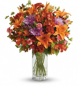 Teleflora's Fall Brights Bouquet in Plano TX, Petals, A Florist