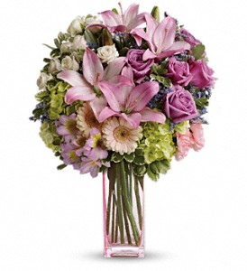 Teleflora's Artfully Yours Bouquet in Homer NY, Arnold's Florist & Greenhouses & Gifts