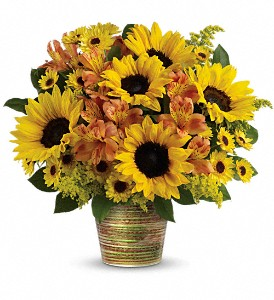 Teleflora's Grand Sunshine Bouquet in Plano TX, Petals, A Florist