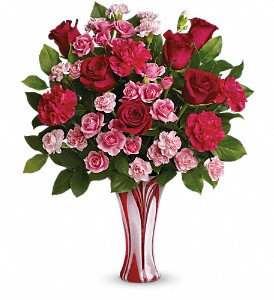 Teleflora's Swirls Of Love Bouquet in Cambridge NY, Garden Shop Florist