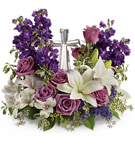 Teleflora's Grace And Majesty Bouquet in Fort Worth TX, TCU Florist