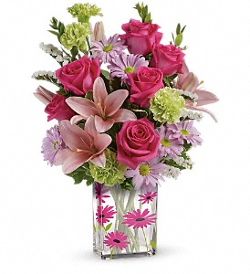Teleflora's Thanks In Bloom Bouquet in Wolfeboro NH, Linda's Flowers & Plants