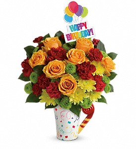 Teleflora's Fun 'n Festive Bouquet in Lexington KY, Oram's Florist LLC