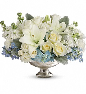 Telflora's Elegant Affair Centerpiece in Sevierville TN, From The Heart Flowers & Gifts