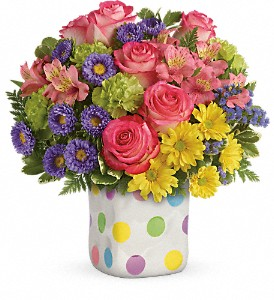 Teleflora's Happy Dots Bouquet in Scarborough ON, Flowers in West Hill Inc.