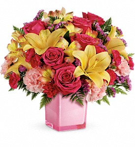 Teleflora's Pop Of Fun Bouquet in Vancouver BC, Downtown Florist