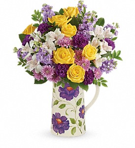 Teleflora's Garden Blossom Bouquet in Warwick NY, F.H. Corwin Florist And Greenhouses, Inc.