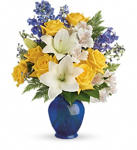 Teleflora's Oceanside Garden Bouquet in Springfield OH, Netts Floral Company and Greenhouse