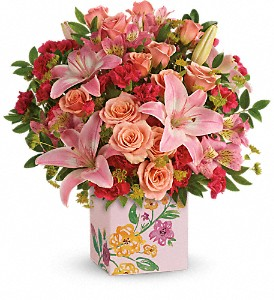 Teleflora's Brushed With Blossoms Bouquet in Corona CA, AAA Florist