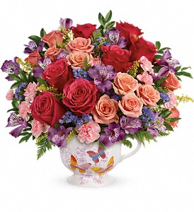 Teleflora's Wings Of Joy Bouquet in Cambridge NY, Garden Shop Florist