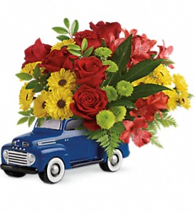 Glory Days Ford Pickup by Teleflora in Flushing MI, Flushing Florist & Greenhouse