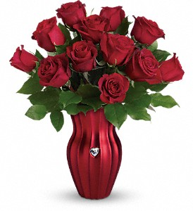 Teleflora's Heart Of A Rose Bouquet in Morgantown WV, Coombs Flowers