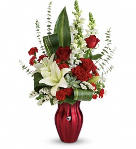 Teleflora's Hearts Aflutter Bouquet in Cody WY, Accents Floral