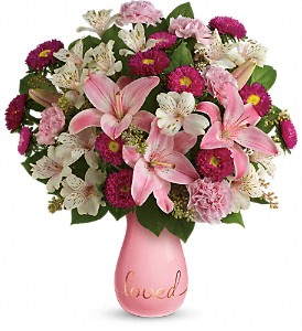 Always Loved Bouquet by Teleflora in Warwick RI, Yard Works Floral, Gift & Garden