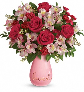 Teleflora's True Lovelies Bouquet in Canton NC, Polly's Florist & Gifts