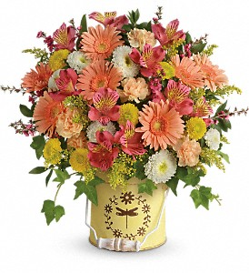 Teleflora's Country Spring Bouquet in Ammon ID, Petal Passion