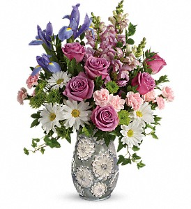 Teleflora's Spring Cheer Bouquet in Bakersfield CA, All Seasons Florist
