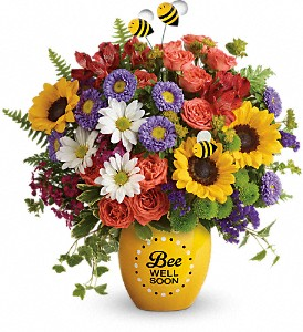 Teleflora's Garden Of Wellness Bouquet in Canton NC, Polly's Florist & Gifts