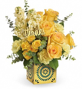 Teleflora's Shimmer Of Thanks Bouquet in Bradenton FL, Tropical Interiors Florist