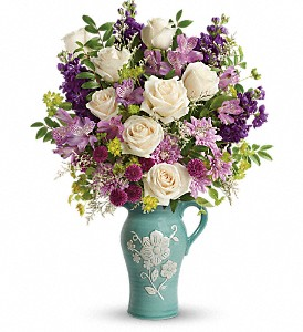 Teleflora's Artisanal Beauty Bouquet in Lansing MI, Delta Flowers