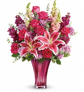 Teleflora's Bold Elegance Bouquet in Madison ME, Country Greenery Florist & Formal Wear
