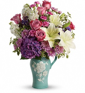 Teleflora's Natural Artistry Bouquet in Tyler TX, Country Florist & Gifts