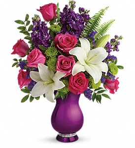 Teleflora's Sparkle And Shine Bouquet in Greenville SC, Greenville Flowers and Plants