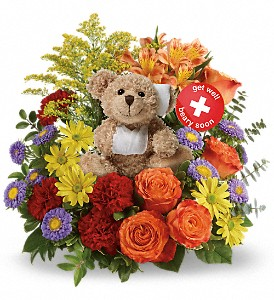 Get Better Bouquet by Teleflora in Hilton NY, Justice Flower Shop