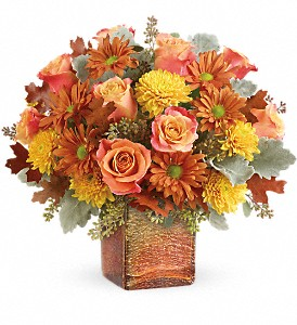 Teleflora's Grateful Golden Bouquet in Wausau WI, Blossoms And Bows