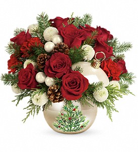 Teleflora's Twinkling Ornament Bouquet in Scarborough ON, Flowers in West Hill Inc.
