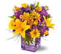Teleflora's Morning Sunrise Bouquet in Vancouver BC Downtown Florist