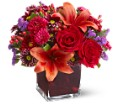 Teleflora's Autumn Grace in Paramus NJ Evergreen Floral, Inc.